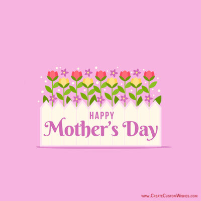 Mother's Day Images with Name