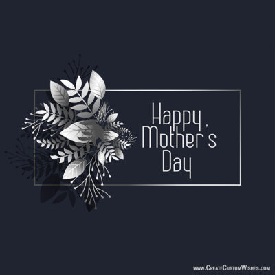 Make Custom Mother's Day Card with Logo