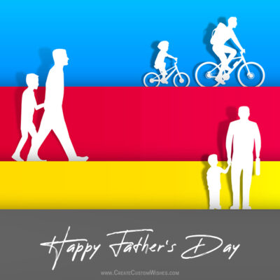 Online Father's Day Greeting Cards Editor Free