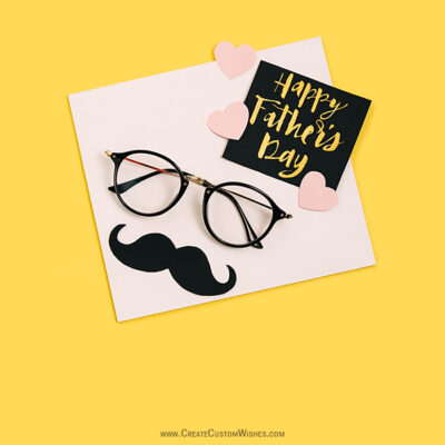 Write Quote on Father's Day Wishes Cards