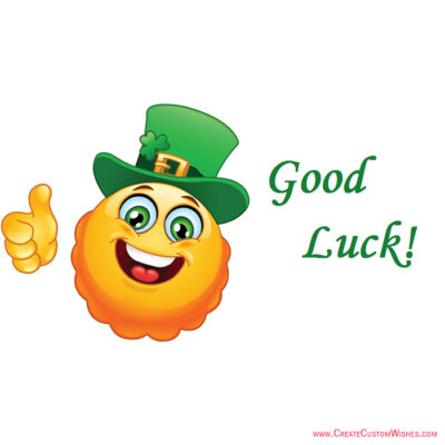 Good Luck Images with Name