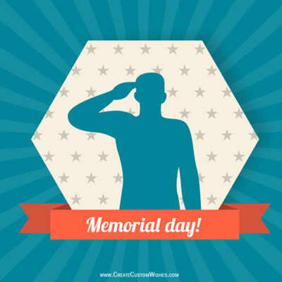 Put Your Image on Memorial Day Wishes Image