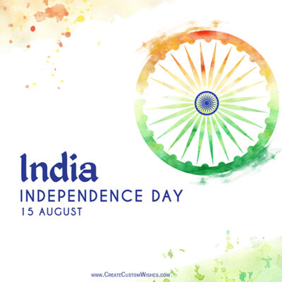 Independence Day Image with Message
