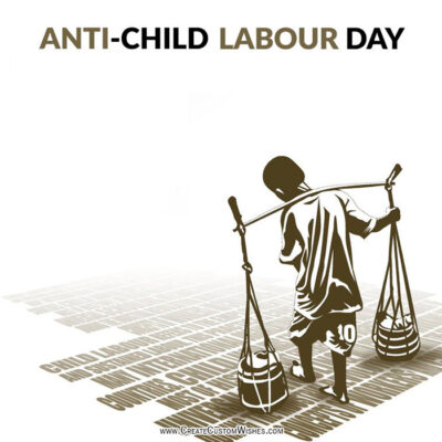 Make Anti Child Labour Day Images