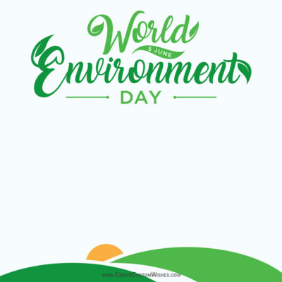 World Enviroment Day Images with Name