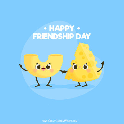 Set Your Image on Friendship Day Wishes Cards