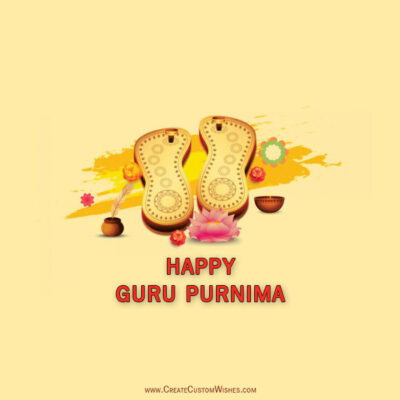 Quickly Create Your Own Guru Purnima Cards