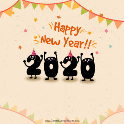Happy New Year 2020 Wishes Images for Whats App