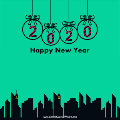 Happy New Year Cards Maker Online