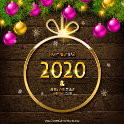 Happy New Year 2021 Wishes Cards Free