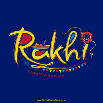 Happy Rakhi Image with Quote
