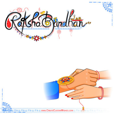 Latest Raksha Bandhan Image with Message