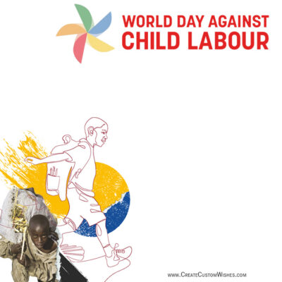 Free Customize Child Labour Day Photo