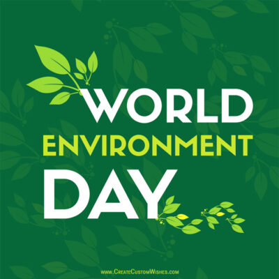 Custom Enviroment Day Image with Name
