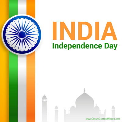 Make Free Customized Independence Day Image