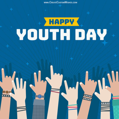 Youth Day Image with Quote