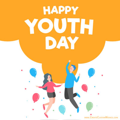 International Youth Day with Name