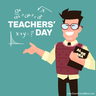Teachers Day Image with Text