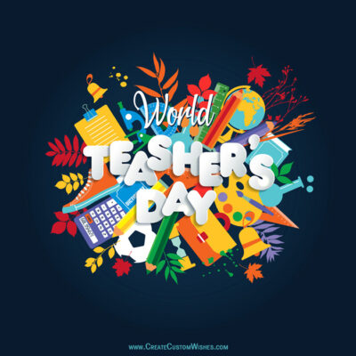 World Teachers Day Wishes Images