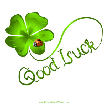Free Good Luck Wishes Images 2021