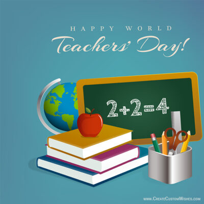 Creative Teachers Day Wishes Images