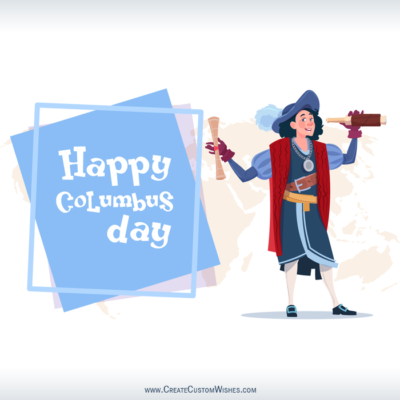 Free Make Columbus Day Wishes Images