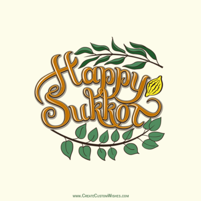 Free Make Happy Sukkot Wishes Images