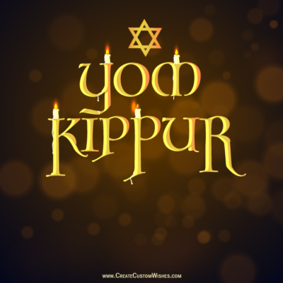 Free Make Yom Kippur Wishes Images