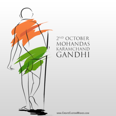 Gandhi Jayanti Image for Whatsapp Status