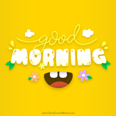 Good Morning Image Editor Online