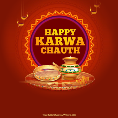 Happy Karwa Chauth Wishes Pic for DP