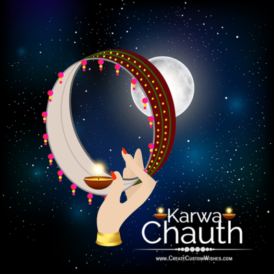 Karwa Chauth Image for Whatsapp Status