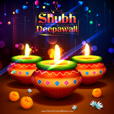 Latest Happy Diwali 2019 Greeting Cards Free!