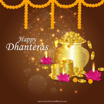 Happy Dhanteras 2020 Wishes Images Free!