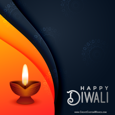 Make Happy Diwali Image for Whatsapp Status
