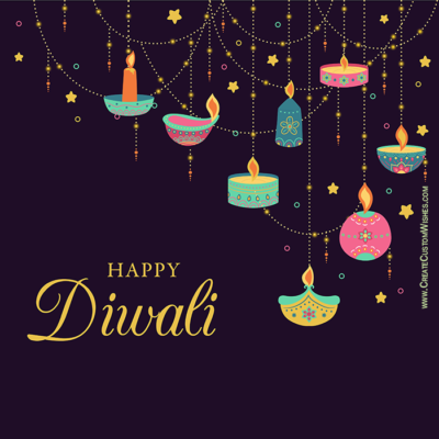 Put Your Text on Happy Diwali Photo