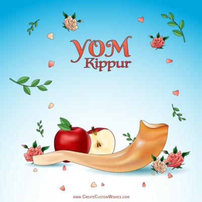 Write Text on Yom Kippur HD Photos