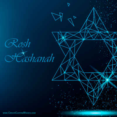 Happy Rosh Hashanah Image with Name