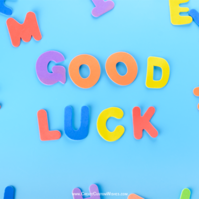 Best Good Luck Wishes Images FREE