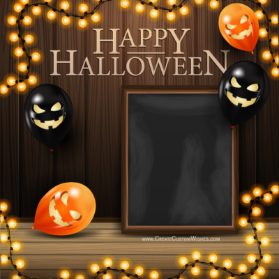 Customize Happy Halloween Party Cards Online