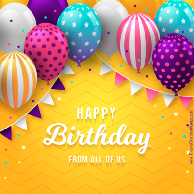 Edit Text on Birthday Status Image