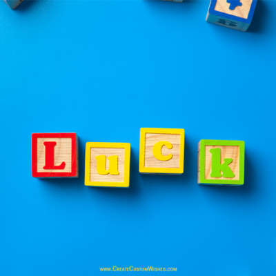 Good Luck Wishes Image for Exam