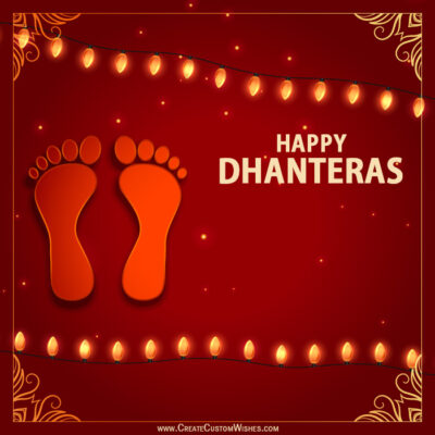 Happy Dhanteras 2020 Greeting Cards FREE