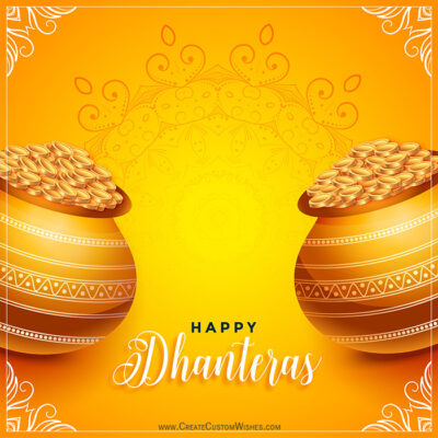 Most Attractive Dhanteras Images with Name