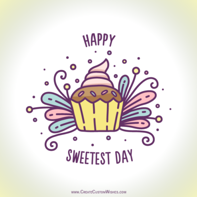 Write Text on Sweetest Day HD Photos