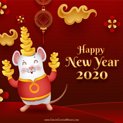 Personalise Chinese New Year Wishes Images
