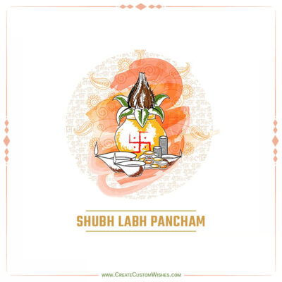 Create Labh Pancham Wishes with Name