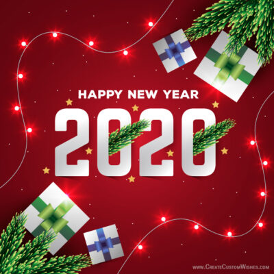 Free 2020 New Year Image Maker Tools Online