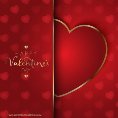 Free Make Valentines day Whatsapp Images