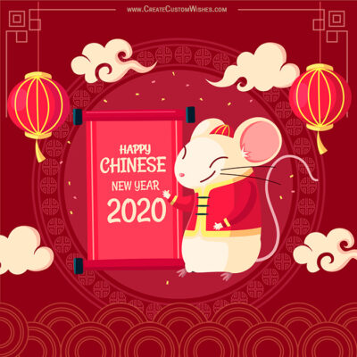 Make Custom Image for Chinese New Year